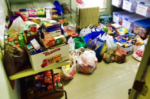 558 Items Newmarket food drive from Newmarket Junior Senior High School